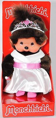 Monchhichi 242061 White Princess Girl (Prinzessin mit weißem Kleid), 20 cm groß