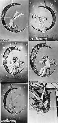 ZIRKUS - Artist ZORRO im Rotierenden MOND - 6 Fotos
