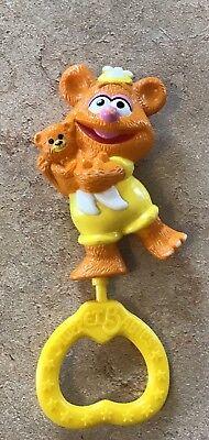 Yellow Tiffy Sesame Street Muppet Figurine 2inch plastic Fraggles Figure FRA002