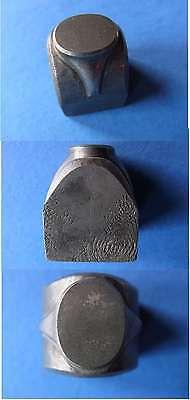 Alte handgravierte Pfaffe Stahl zur Ring-oder Schmuckherstellung #3