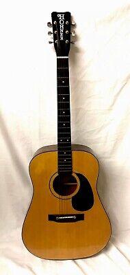 Vintage Acoustic Hohner guitar Model  HG-? Made In Japan