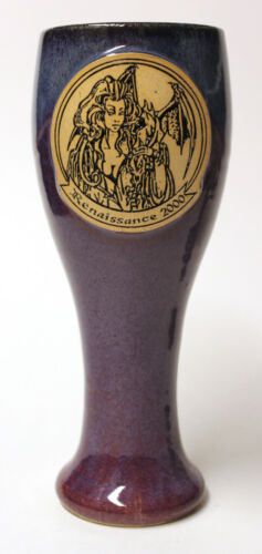 Colorado Renaissance Festival Goblet Hand Crafted In 2000