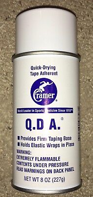 Quick Drying Adherent Spray (Cramer Products Quick Drying Tape Adherent Spray 8 oz-ref)
