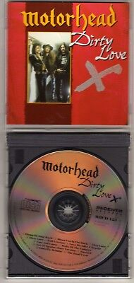 Motorhead  Dirty Love Cd Lemmy Fast Eddie Clark Hard Rock Out Of Print