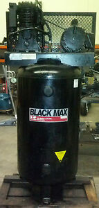 Sanborn-Black-Max-5-HP-Two-Stage-Industrial-Air-Compressor-80-Gallon-1-Phase