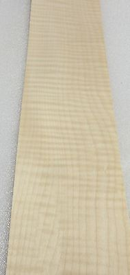 Maple Sycamore Curly Figure Tiger Wood Veneer 4 X 22 Raw No Backer 142 Thick