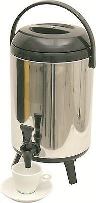 Thermo Getränkebehälter mit Klapphahn, 8 Liter