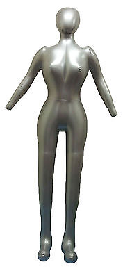 New Woman Whole Body With Arm Inflatable Mannequin Fashion Dummy Torso Model