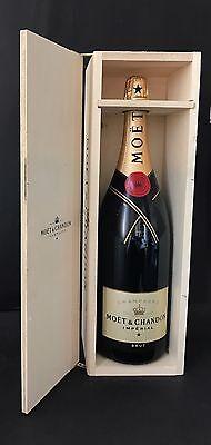 Moet & Chandon Brut Impérial 3l Champagner Jeroboam Flasche + Holzkiste 12% Vol.