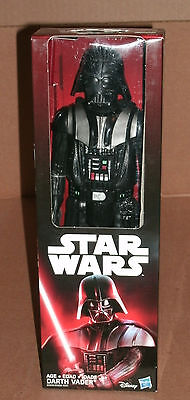 "Star Wars Darth Vader - 12"" Action Figure - The Force Awakens Dark Vader Bad Guy"