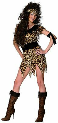 Cavewoman Outfits (Cavewoman Jungle Jane Womens Fancy Dress Costume Hen Party Outfit Adult)