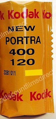 1 x Kodak  Portra 400 120 Roll Colour Film 120 Starter Film by 1st CLASS POST