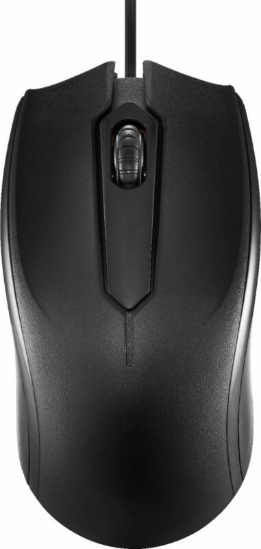 Dynex- Wired Optical Mouse - Black