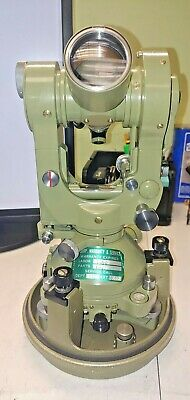 Wild Heerbrugg T2-131581 Universal Theodolite Wbullet Original Carrying Case