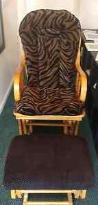 Animal print Sliding rocker and foot stool Coopers Plains Brisbane South West Preview