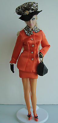 Barbie Clothes/Fashions Fancy Dress Suit W/ Feathered Hat - Barbie Fancy Dress