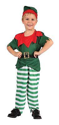 Santa Helfer junge Elf Kostüm. Kleinkind, Kinder Christmas-Kostüm, von 2-3 #DE