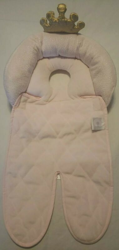 BOPPY ~ Luxe Baby Princess Head & Neck Support Car Seat ~ Pink