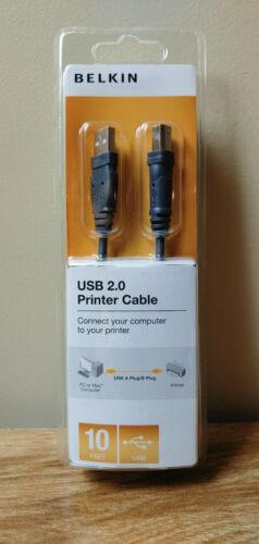 Belkin USB Cable Black F3U154-10-SN