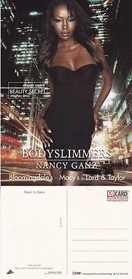 BODYSLIMMERS BY NANCY GANZ UNUSED ADVERTISING COLOUR POSTCARD