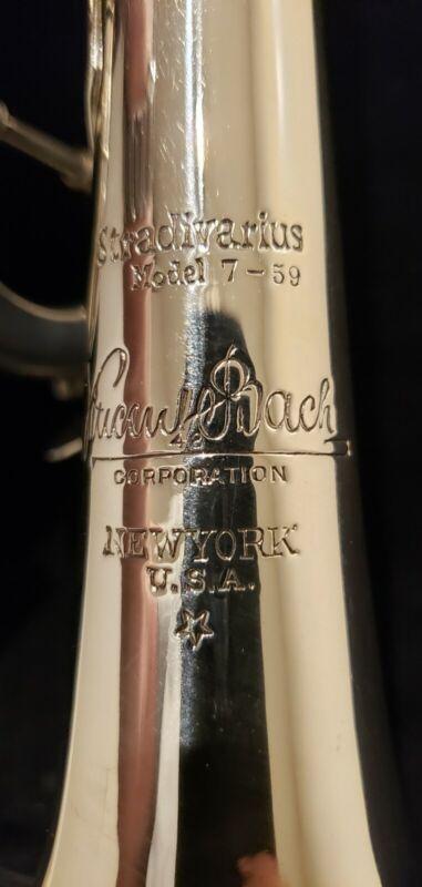 Bach Stradivarius  New York U.S.A.