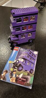 LEGO Harry Potter Knight Bus 4755 with manual , NICE !