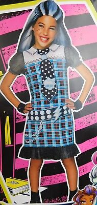 Monster High Frankie Stein Girl's Halloween Dress-Up Costume 8-10 Medium #7384
