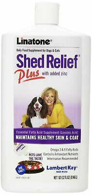 Lambert Kay Linatone Shed Relief Skin/Coat Liquid Supplement for Dog/Cat