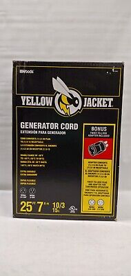 Yellow Jacket Generator Cord 25 Foot Minor Box Damage
