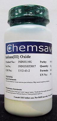 Indiumiii Oxide 99.97 Trace Metals Basis 10g