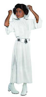 Rubies Star Wars mit Kapuze Kinder Prinzessin Leia Mädchen Halloween Kostüm