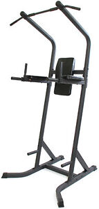 Gym Master POWER TOWER Pro Multi Workout Station Pull Up Bar Dips ABs Exercise