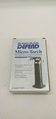 Defend Micro-torch Instant Electronic Ignition Mt-9000