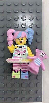 Lego 71019 NINJAGO Movie Series N-POP GIRL Minifigure Pink Bear Unikitty