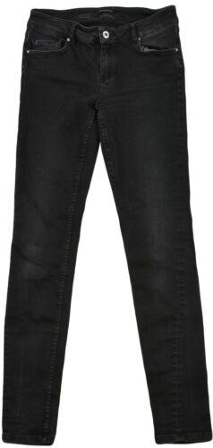 Massimo Dutti Damen Skinny Fit Niedrige Taille Kurze Jeans Hosen Größe EUR-38