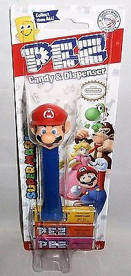 SUPER MARIO Pez Dispenser  MARIO  [Carded]