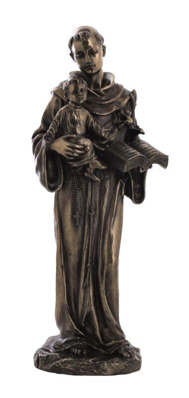 St.+Anthony+of+Padua+and+Jesus+child+infant+Franciscan+Saints+figure+statue+new
