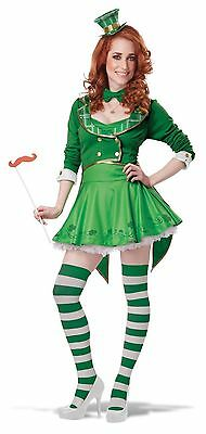 California Costume Lucky Charm Adult Women Leprechaun Halloween Costume
