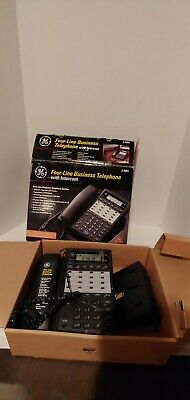 Ge 2-9451 Four Line Business Telephone System With Intercom Pro Series