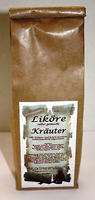 Kräuter Likör Ansatz 160 g würzig selber machen 1kg/30,62€ Tee-Meyer g1