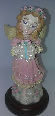 House of Lloyd Christmas Around the World The Giving Angel Homco Figurine