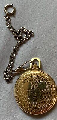 Vinatge Mickey Mouse Pocket Watch Pre-owned