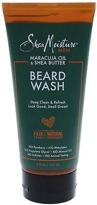 Shea Moisture Mens Beard Wash, Premium All Natural ingredien
