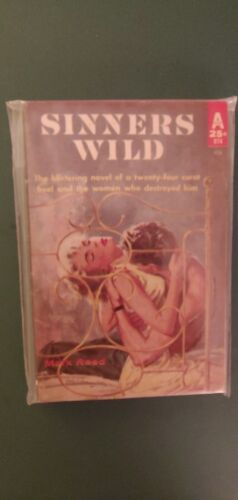 Sinners Wild By Mark Reed, 1960 Avon PB, VG, Victor Kalin Cover - $4.35