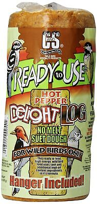 C & S Products RTU 2-Pound Hot Pepper Delight Log, -
