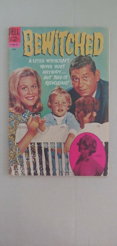 Bewitched #10 July 1967 Dell Comic Photo Cover