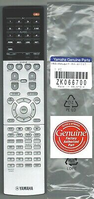 Used, New Genuine Yamaha Receiver Remote Control RAV517 ZK06670 fits RX-A1040 RXA1040 for sale  Shipping to India