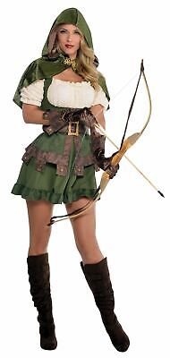 Womens Costume Ladies Fancy Dress Outfit Story Outlaw Dressu (Outlaw Kostüme)