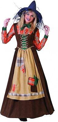 Kostüm Hexe Vogelscheuche Landstreicherin Gr.36 Halloween Karneval (Kostüme Vogelscheuche)