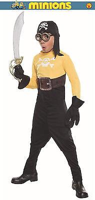 Halloween Minion Costumes (Minions Pirate Minion Child Halloween Costume Jumpsuit Headpiece Goggles)
